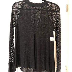 Free People - No Limits Layering Top Size M